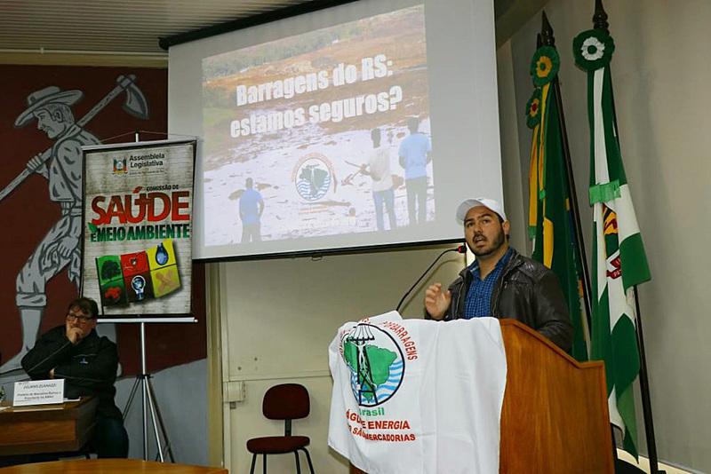 Audiência pública debateu situação das barragens no Rio Grande do Sul no dia 24 de maio
