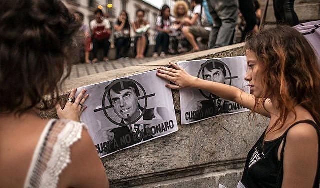 Entidades, como a Associação dos Docentes da USP, vem repudiando a candidatura de Bolsonaro