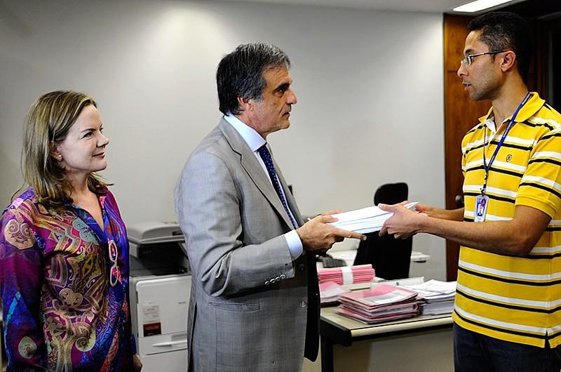 Durante a coletiva, oex-ministro da Justiça dissetambémqueacredita na absolvição de Dilma Rousseff por conta do material probatório apresentado pela defesa.