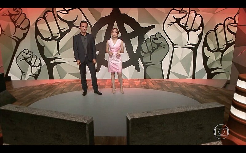 Programa Fantástico, da Rede Globo de televisão, exibido no último domingo (29)