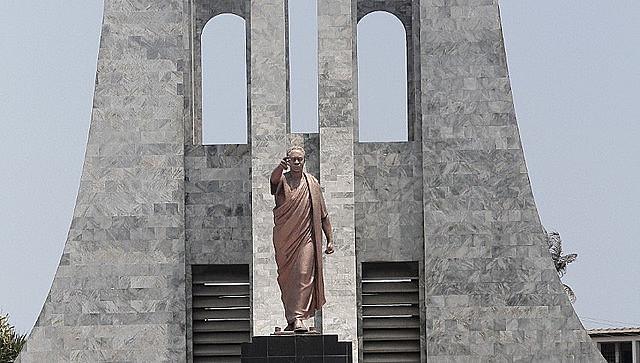 Kwame Nkrumah Mausoleum in Accra, capital of Ghana