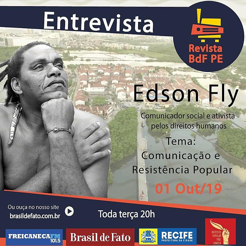 Edson Fly é comunicador social e ativista de direitos humanos