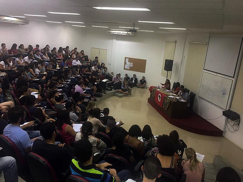 IV Jornada Universitária em Defesa Reforma Agrária teve participação de alunos de diferentes cursos