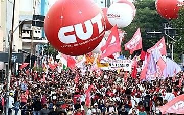 Será a primeira vez que as seis centrais reconhecidas formalmente farão um ato unificado no Dia do Trabalho
