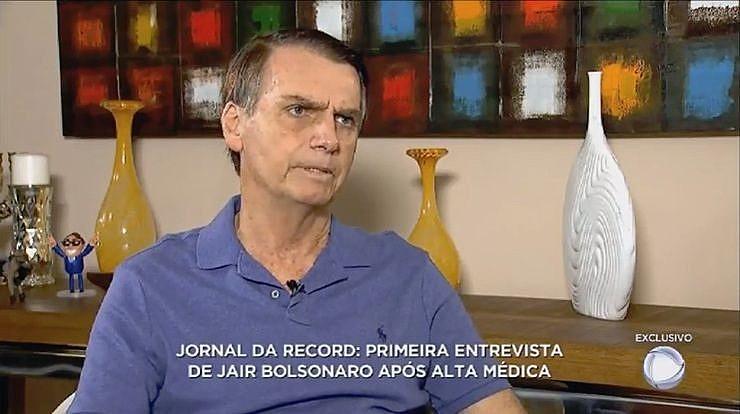 Bolsonaro teve 25 minutos para falar da campanha e atacar adversários; igreja e partido ligados à emissora declararam apoio a Bolsonaro