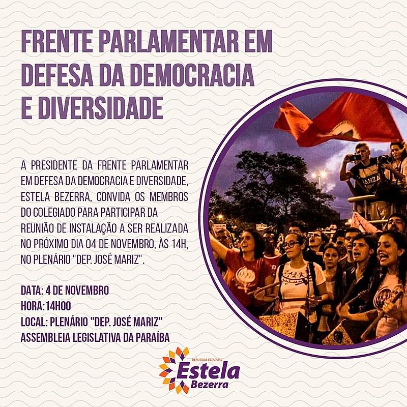 Evento é propositura da Deputada Estela Bezerra (PSB)