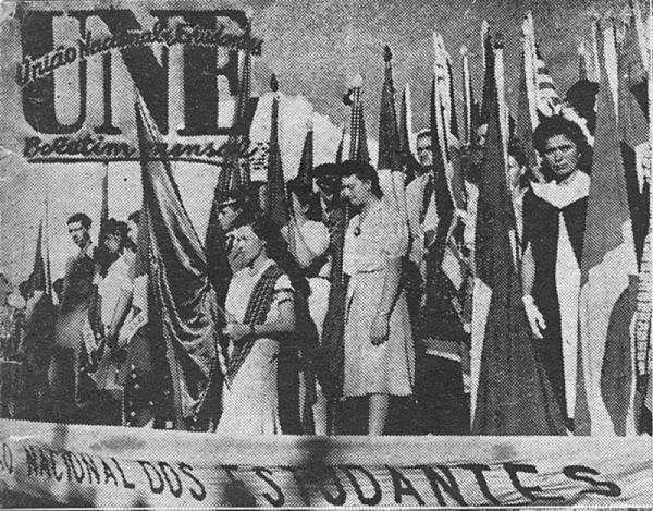 Primeiros anos da UNE acompanharam a eclosão da segunda grande guerra