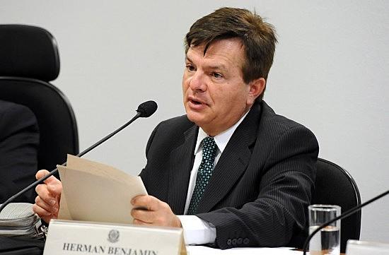 Ministro Herman Benjamin, relator do processo de cassação da chapa de Dilma Rousseff e Michel Temer