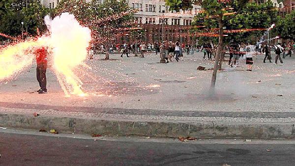 Cinegrafista Santiago Andrade murió cubriendo una protesta en Rio de Janeiro en el 2013