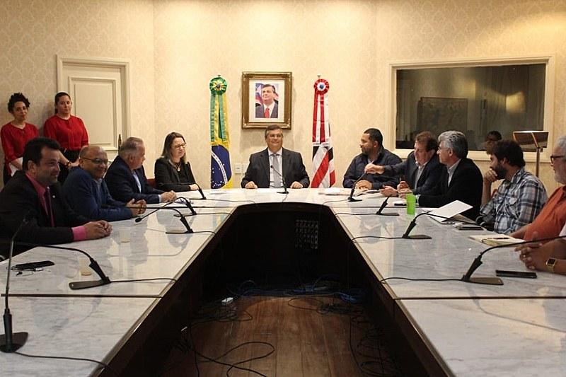 Em reunião com governador do Maranhão, movimentos agrários e ambientais apresentam agenda unificada para o setor