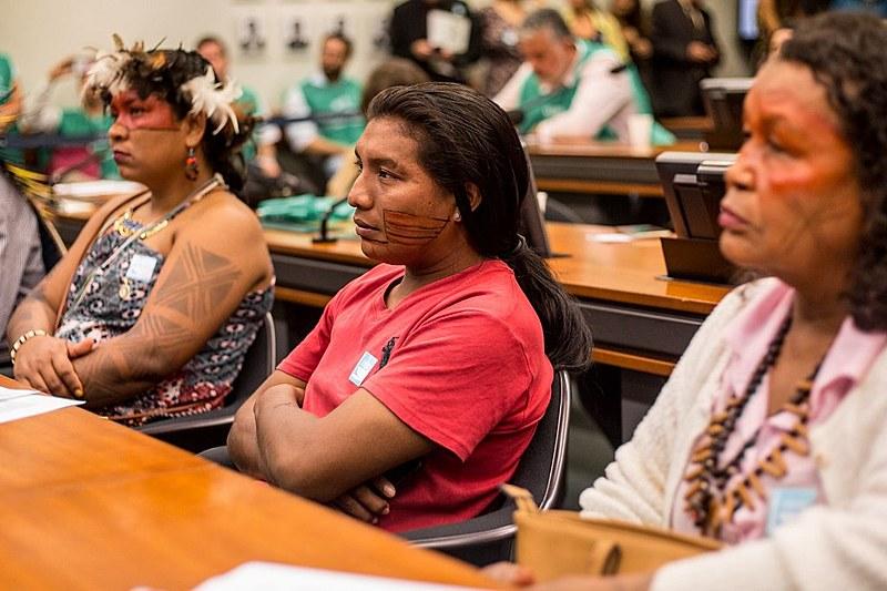 Entre os 17 povos que compõem a delegação em Brasília estão os Karipuna, que têm sofrido com constantes invasões em seu território