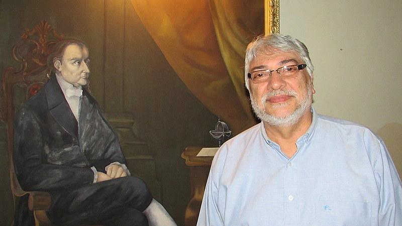 O ex-presidente paraguaio Fernando Lugo recebeu o Brasil de Fato em sua casa, em Assunção (Paraguai)