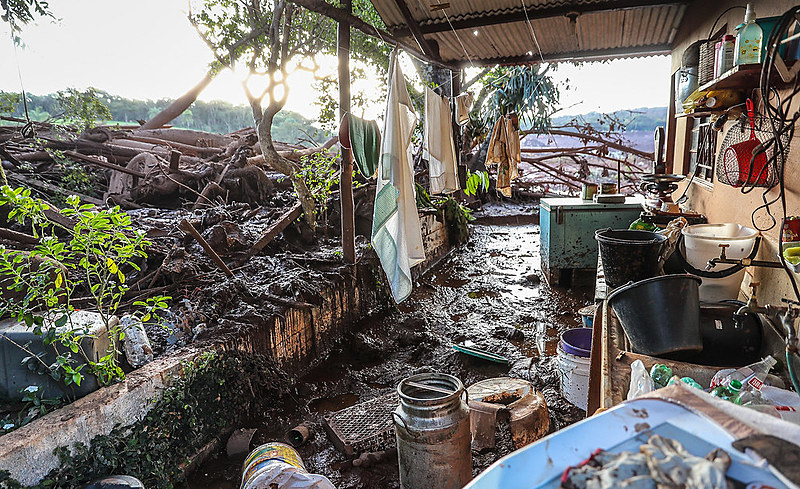 Rompimento da barragem em Brumadinho (MG) completa um ano neste sábado (25)