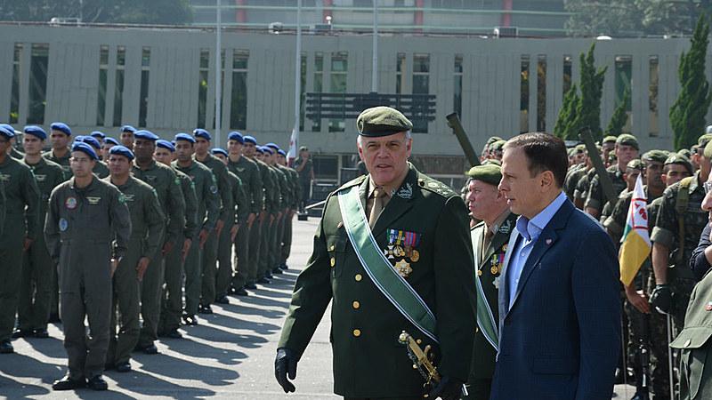 Primeiro militar no comando da SSP desde 1979, general tem ideias vagas sobre como resolver os problemas do estado