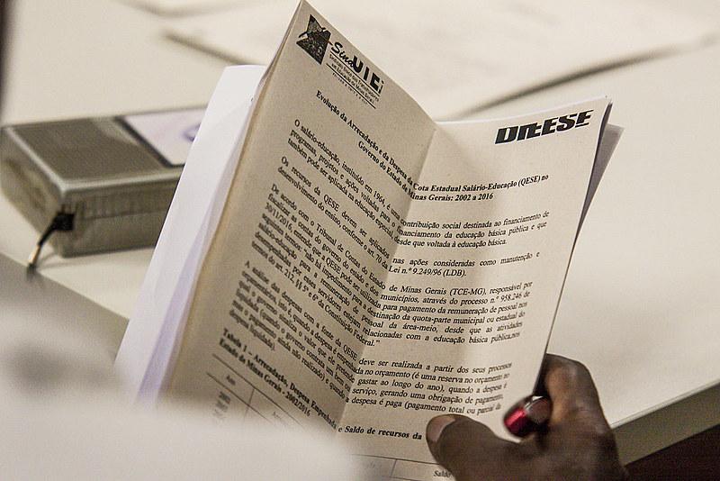 Projeto prevê o uso da Quota Estadual do Salário Educação (QESE), uma contribuição social destinada exclusivamente à educação básica