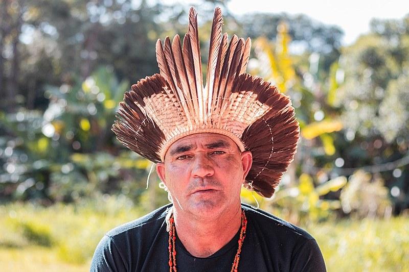 Ava Vyraidja, da aldeia de Posto Velho, ou em guarani, Wyporã, no Paraná