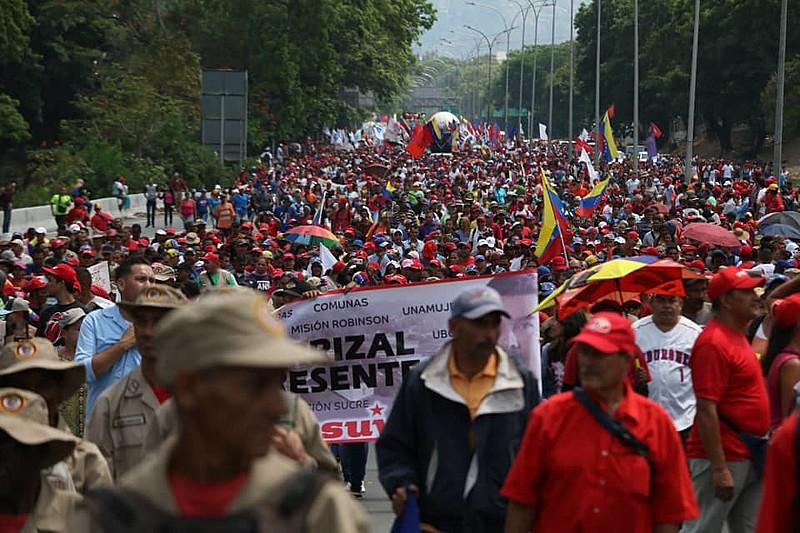 Cresceu a tensão em torno das mobilizações para o Cia do Trabalhador na capital venezuelana