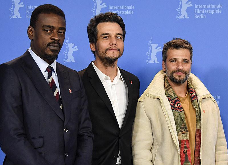 Seu Jorge, Wagner Moura e Bruno Gagliasso representam o filme no Festival Internacional de Cinema de Berlim