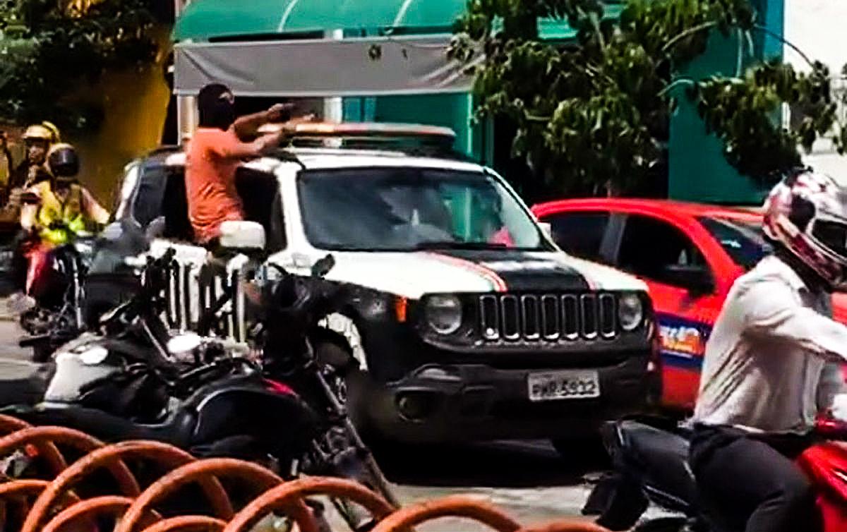 policiais encapuzados sobral ceara