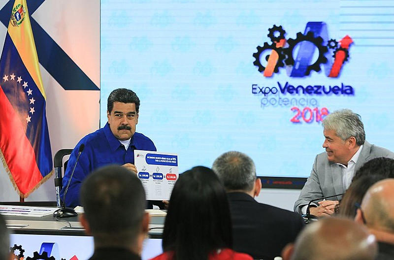 Durante a exposição agrícola Expo Potência Venezuela, Nicolás Maduro anuncia reajuste salarial para trabalhadores