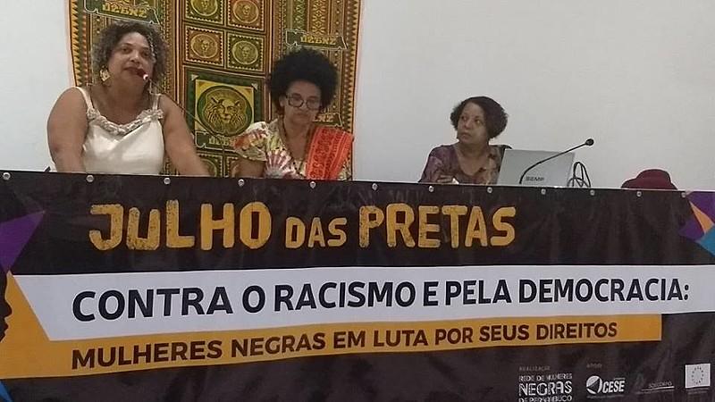 """""""O dia 25 de julho se estabeleceu como dia pelas mulheres negras latinoamericanas e caribenhas a partir de nossa ação"""", reafirma Piedade."""