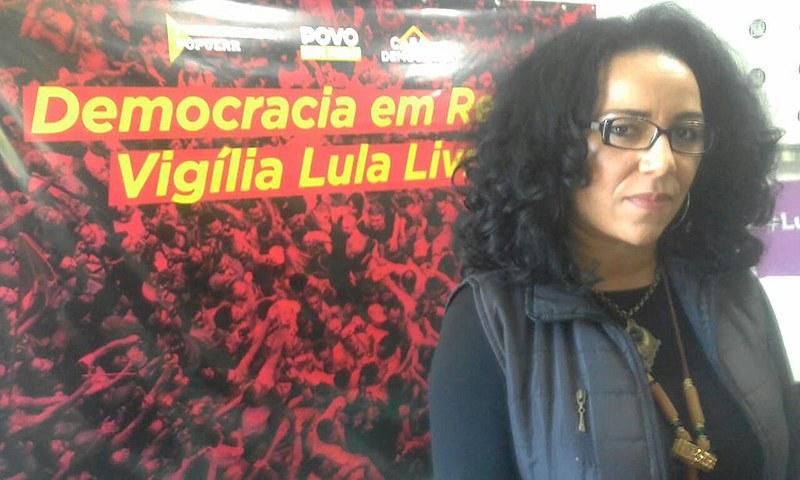 Para a pastora Cleusa Caldeira, os cristãos têm o dever de serem justos e de denunciarem as injustiças, como a que está ocorrendo com Lula