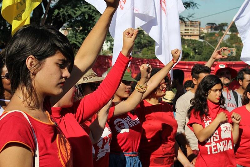 Acampamento Lula Livre permanece nas proximidades da Polícia Federal em Curitiba (PR)