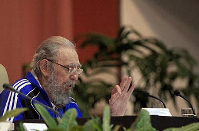 Discurso de Fidel em abril de 2015.