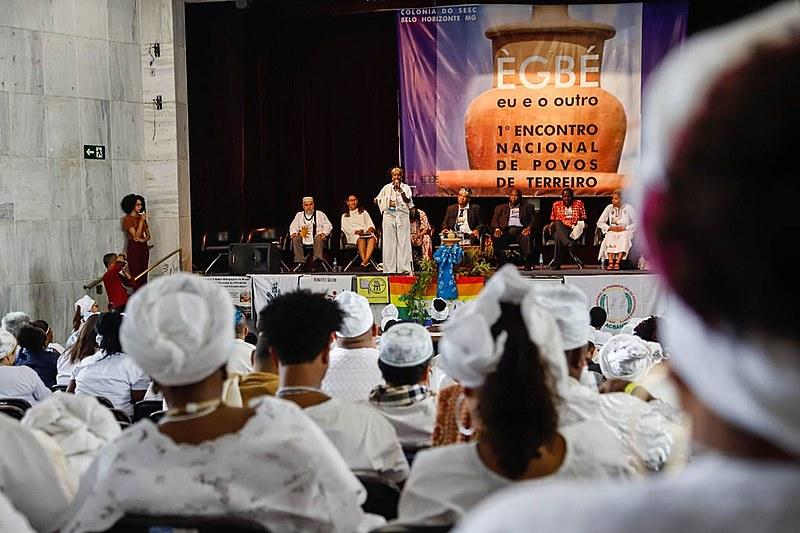Cerca de 400 lideranças do Candomblé e da Umbanda estiveram presentes ao encontro entre 13 e 16 de julho