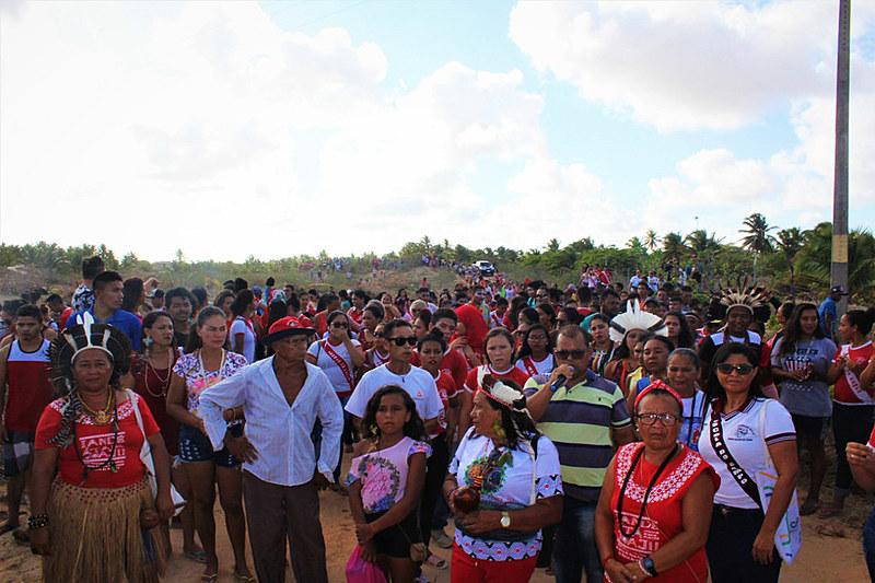 O local sofreu, no último dia 20, ação de reintegração de posse de uma área localizada na comunidade de Apiques.