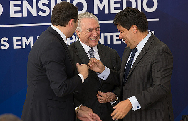 El gobierno Temer también edito una medida que reestructura la enseñanza media en Brasil