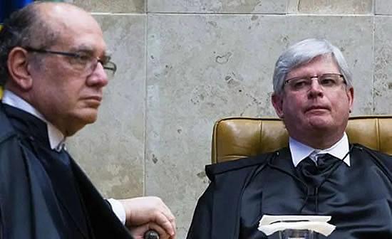 Rodrigo Janot e Gilmar Mendes tiveram várias discussões públicas na fase mais acirrada da Lava Jato