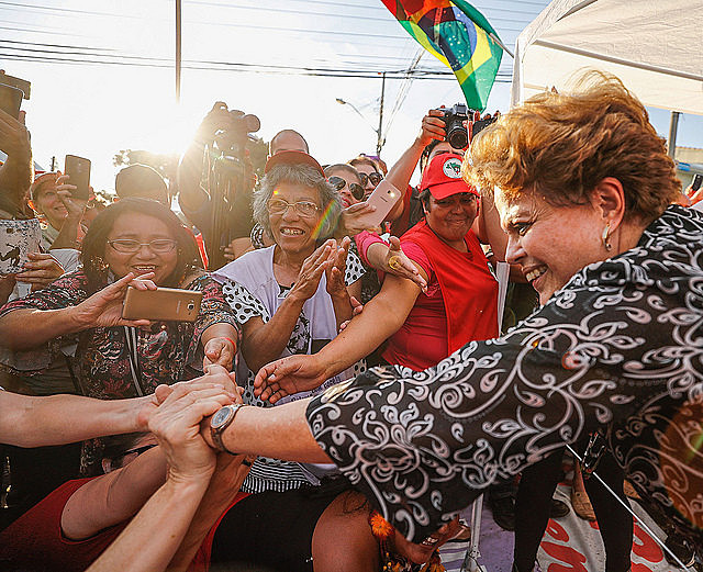 Brazil's ex-president announced on Thursday she is willing to run, after a meeting with Workers' Party leaders in Belo Horizonte