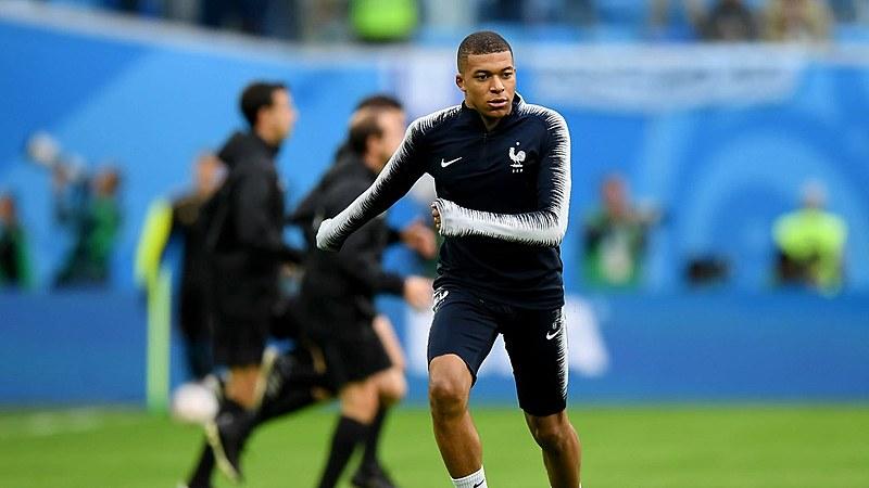 M'bappe, uma das esperanças da torcida francesa para a final da Copa 2018