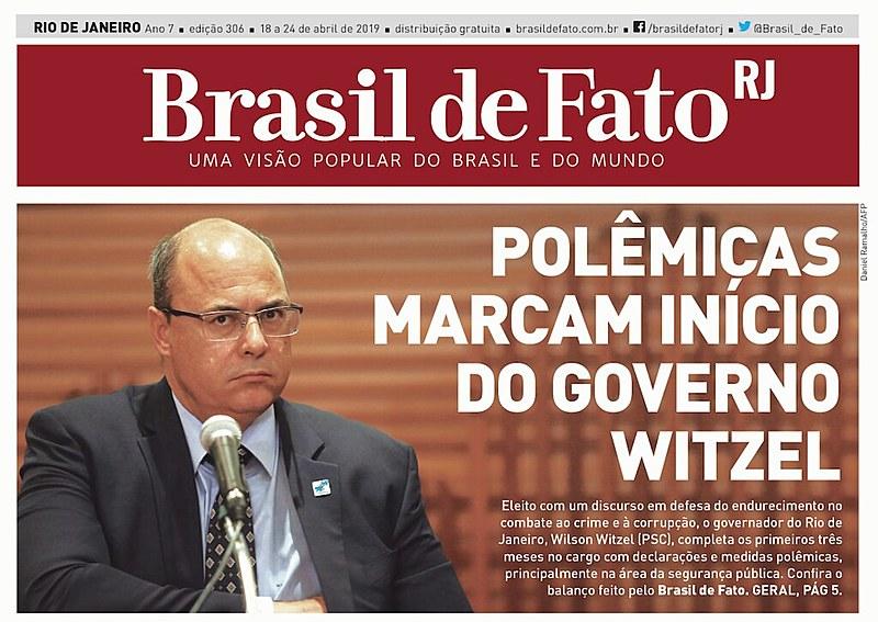 O tabloide é distribuído nas estações de trens e metrô na Central do Brasil, Pavuna, Coelho Neto e nas barcas em Niterói