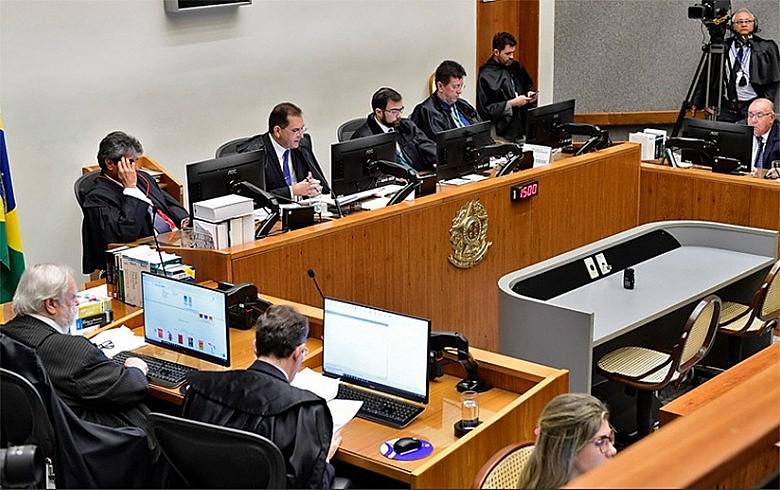 Ministros da Quinta Turma do STJ realizaram sessão nessa terça (23) para decidir recurso da defesa de Lula