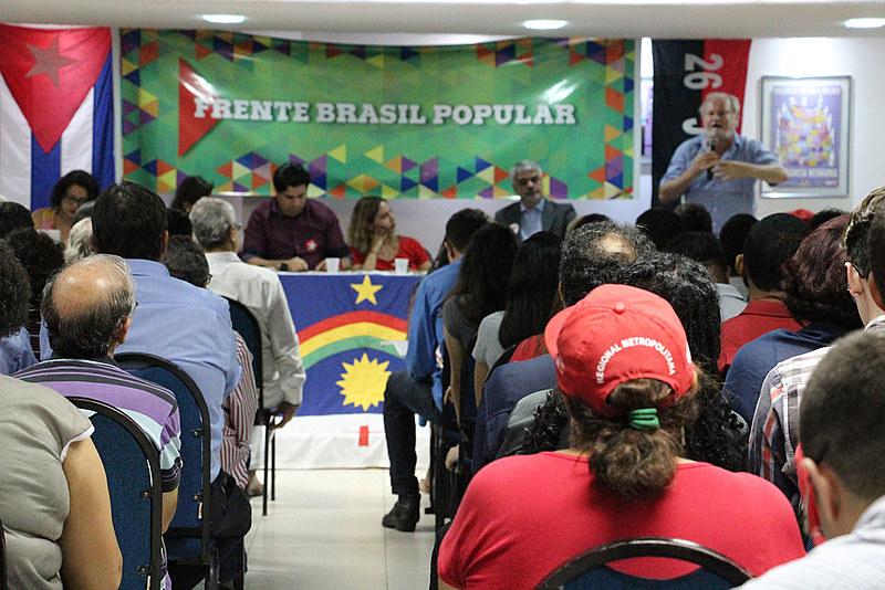 Entre os dias 12/01 a 24/01, entra em atividade a Brigada da Frente Brasil Popular PE nos bairros e no centro da cidade