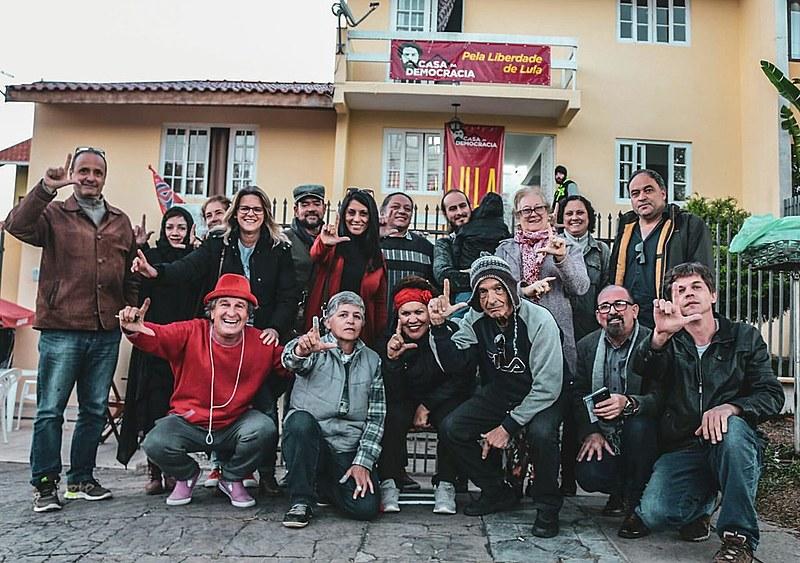 Moradores de diversos bairro da região norte se encontraram na Casa da Democracia para debate e apoio