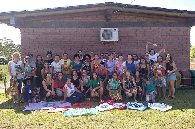 Atividade aconteceu entre 4 e 6 de fevereiro e reuniu camponesas da Via de diversos estados brasileiros