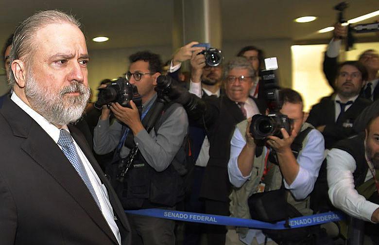 Augusto Aras, indicado pelo presidente Jair Bolsonaro para ser o novo chefe da Procuradoria Geral República (PGR)