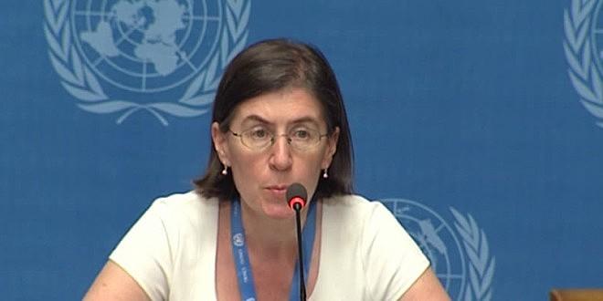 Liz Throssel pediu manifestações pacíficas da oposição e a garantia do direito à liberdade de expressão.