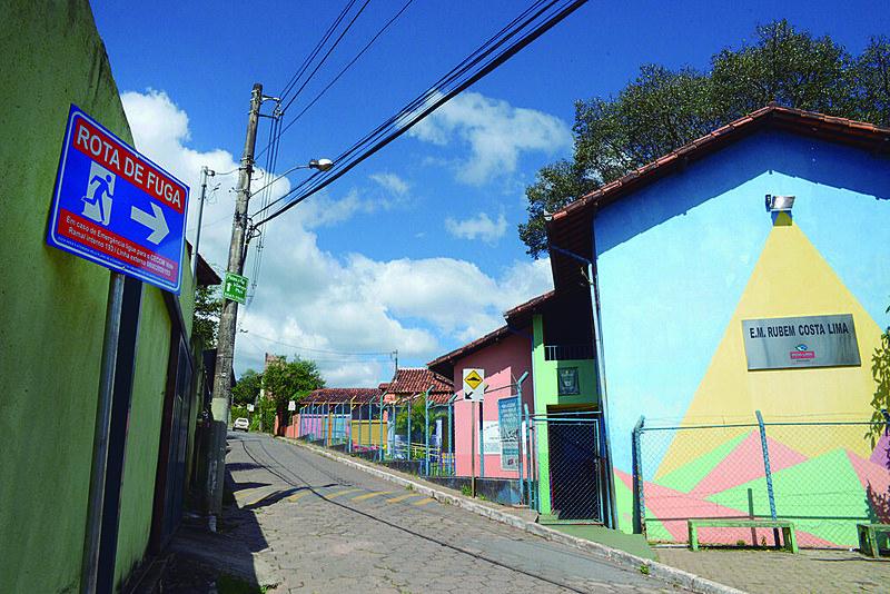 Macacos, distrito do município de Nova Lima, foi um dos locais evacuados