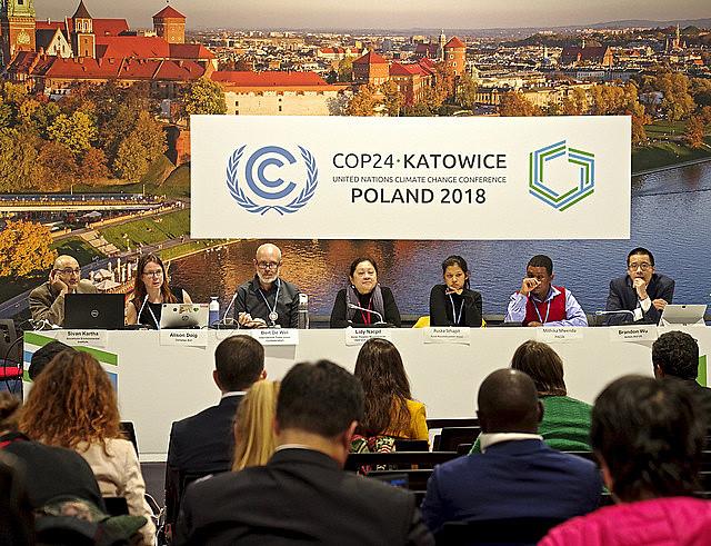 Conferência das Partes, conhecida como COP, edição 24, acontece na Polônia para discutir mudanças climáticas