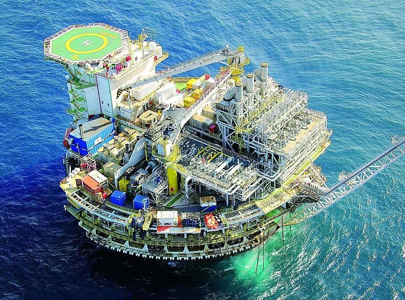 Plataforma da Petrobras; desmonte da empresa afeta soberania nacional