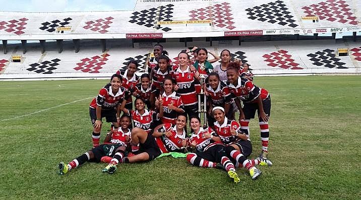 Em dezembro a equipe tricolor sagrou-se campeã da Taça Solidariedade diante do Náutico