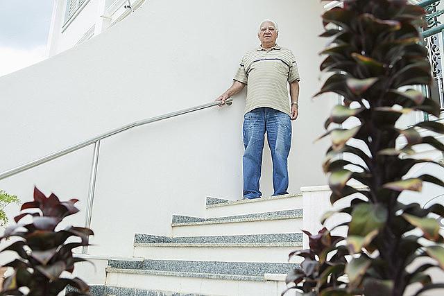 """""""Parecia um cenário de guerra"""", diz Geraldo Ribeiro, um dos sobreviventes do massacre que faleceram anos depois"""