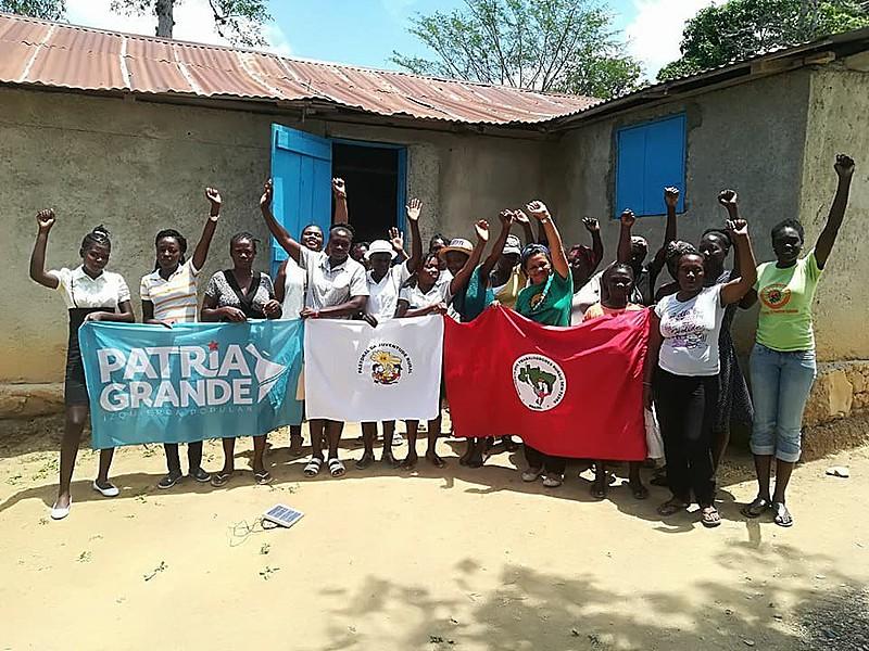 Círculos de formação promovidos pelas brigadas ocorrem mensalmente em diversas regiões do Haiti
