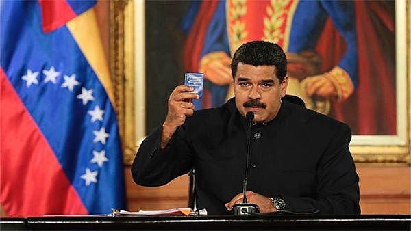 'O mundo inteiro está convocado à jornada pela paz e a soberania, em solidariedade com a Venezuela', disse o presidente Nicolás Maduro