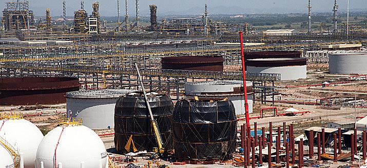 Retomada das obras do Comperj, no Rio de Janeiro, foi entre à estatal chinesa China National Petroleum Corporation (CNPC)