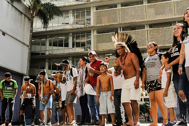 O encontro teve também o intuito de fomentar um espaço de formação para lideranças e para a juventude indígena